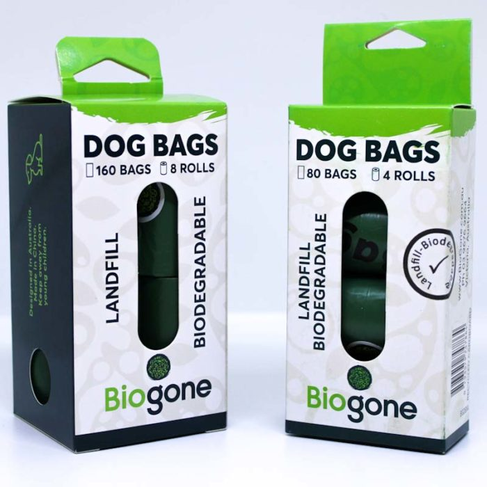 Dog Waste Bags Pack 4 and 8