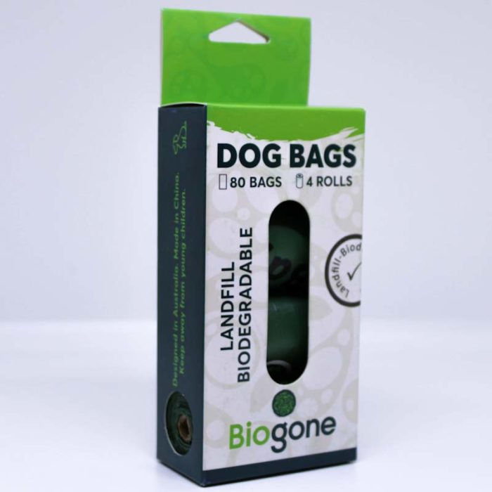Dog Waste Bags Pack 4
