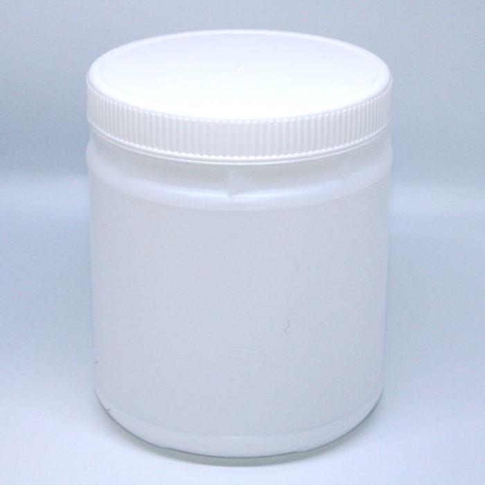 Biodegradable jar lid on