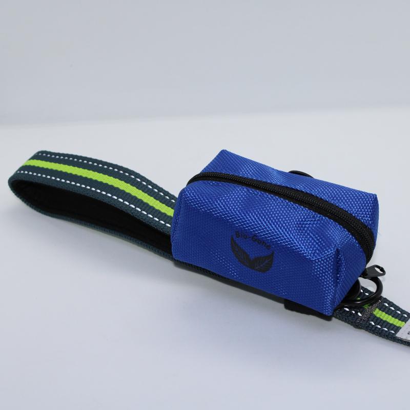 Blue Bag on Leash