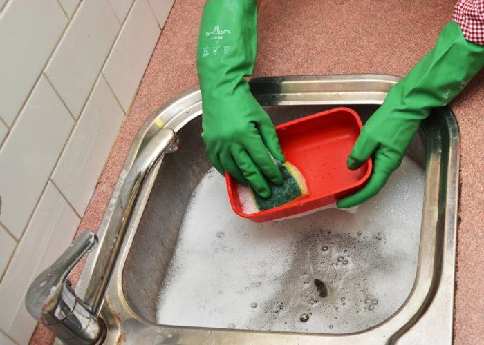 Landfill-Biodegradable Reusable Gloves