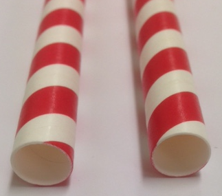 10mm straws red