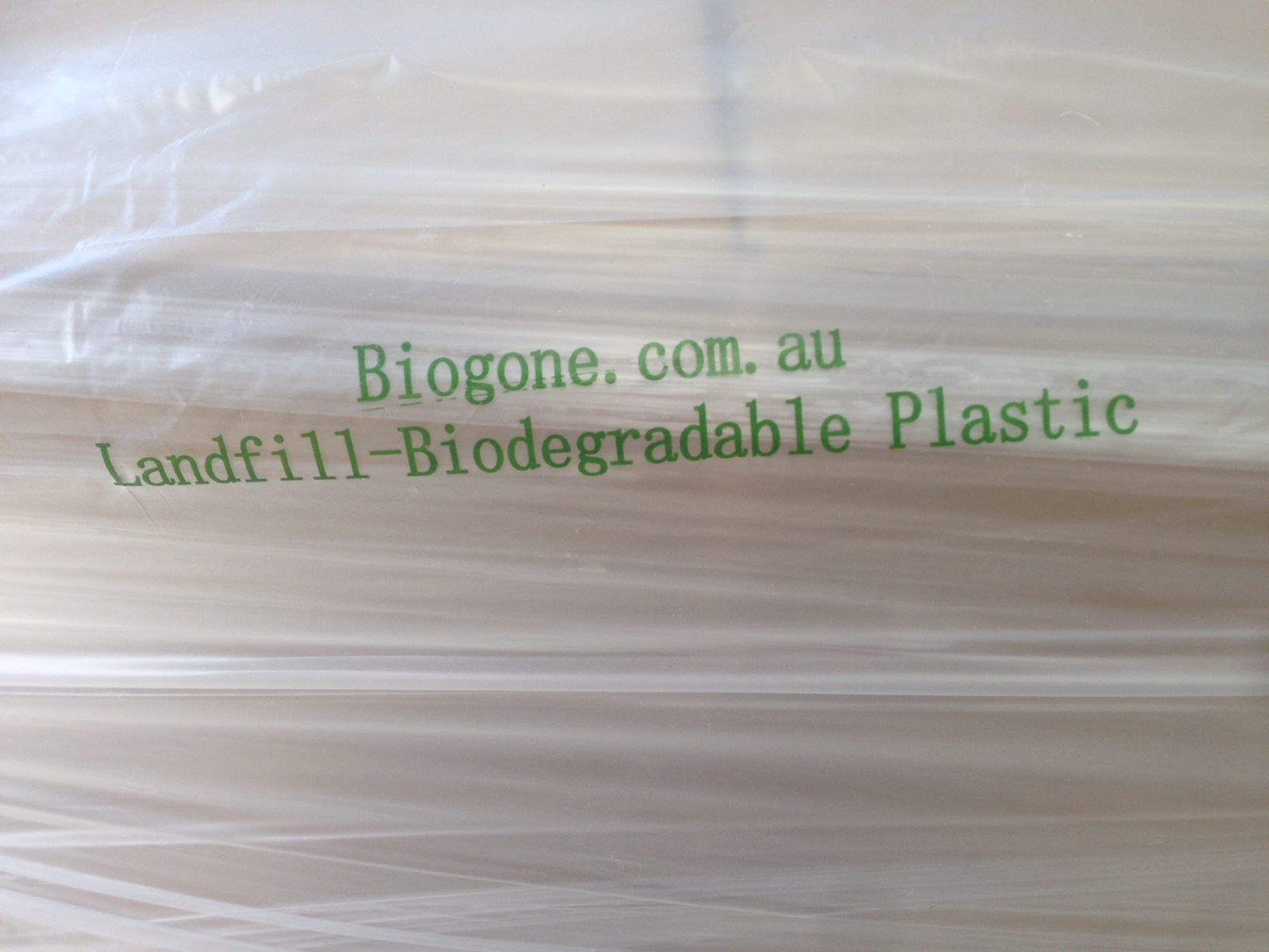 Landfill Biodegradable Pallet Caps