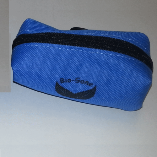 Soft Carry Pouch for Mini Dog Bag Rolls Blue Pouch
