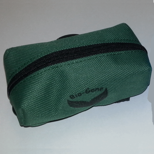 Soft Carry Pouch for Mini Dog Bag Rolls Green Pouch