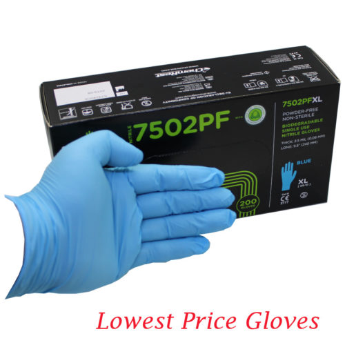 E7502 Blue Glove Main Product